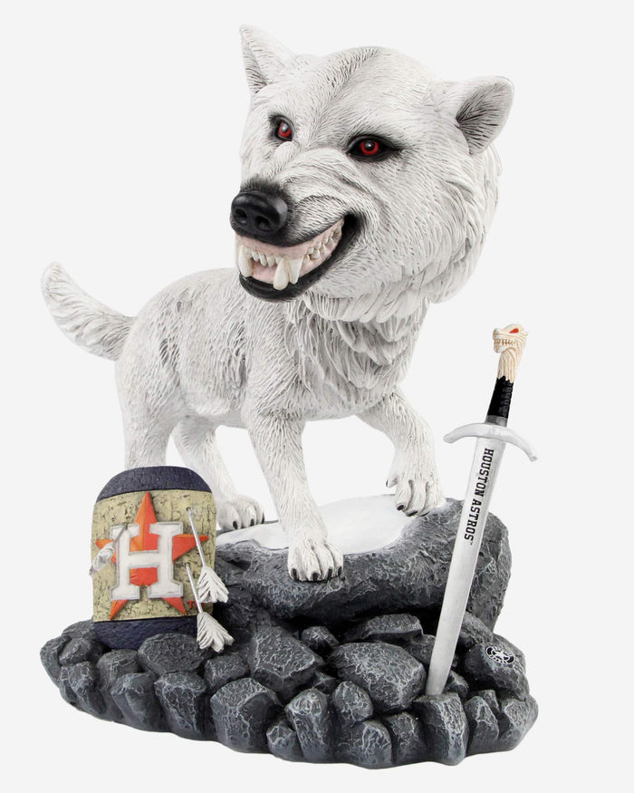 Houston Astros Game Of Thrones Direwolf Bobblehead FOCO - FOCO.com