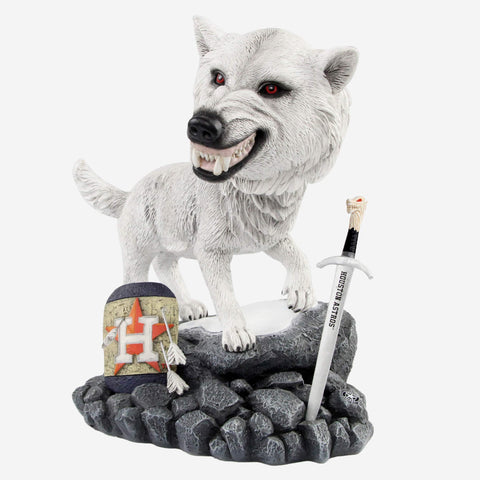 Houston Astros Game Of Thrones Direwolf Bobblehead
