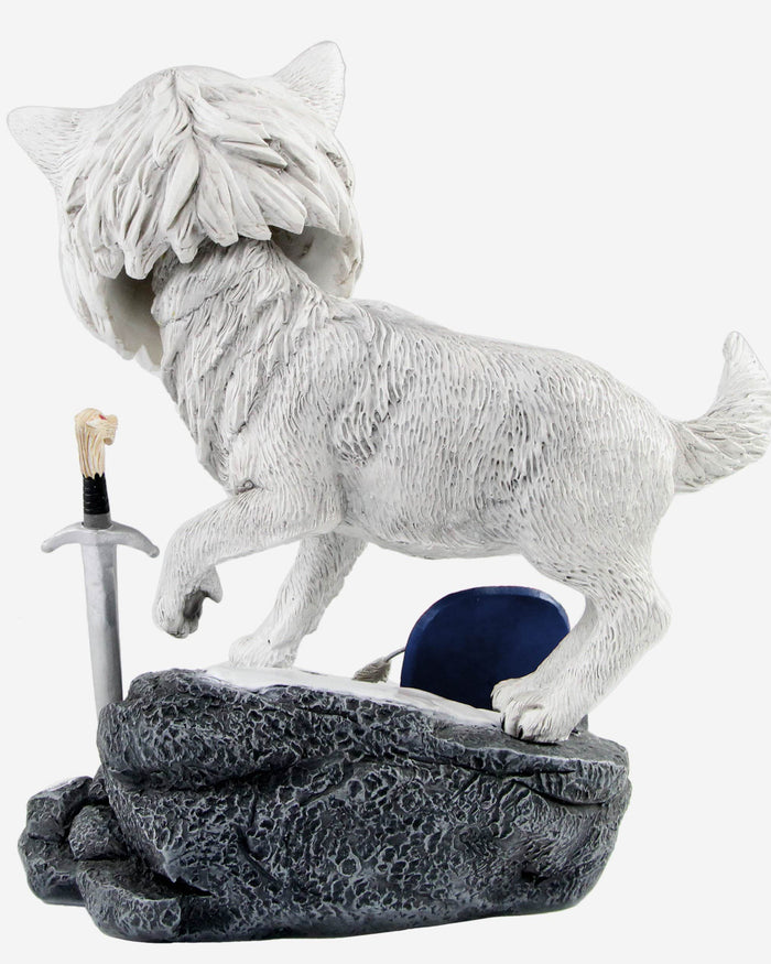 Los Angeles Dodgers Game Of Thrones Direwolf Bobblehead FOCO - FOCO.com