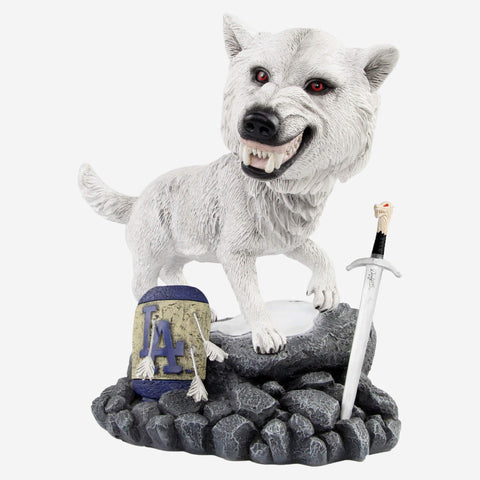 Los Angeles Dodgers Game Of Thrones Direwolf Bobblehead