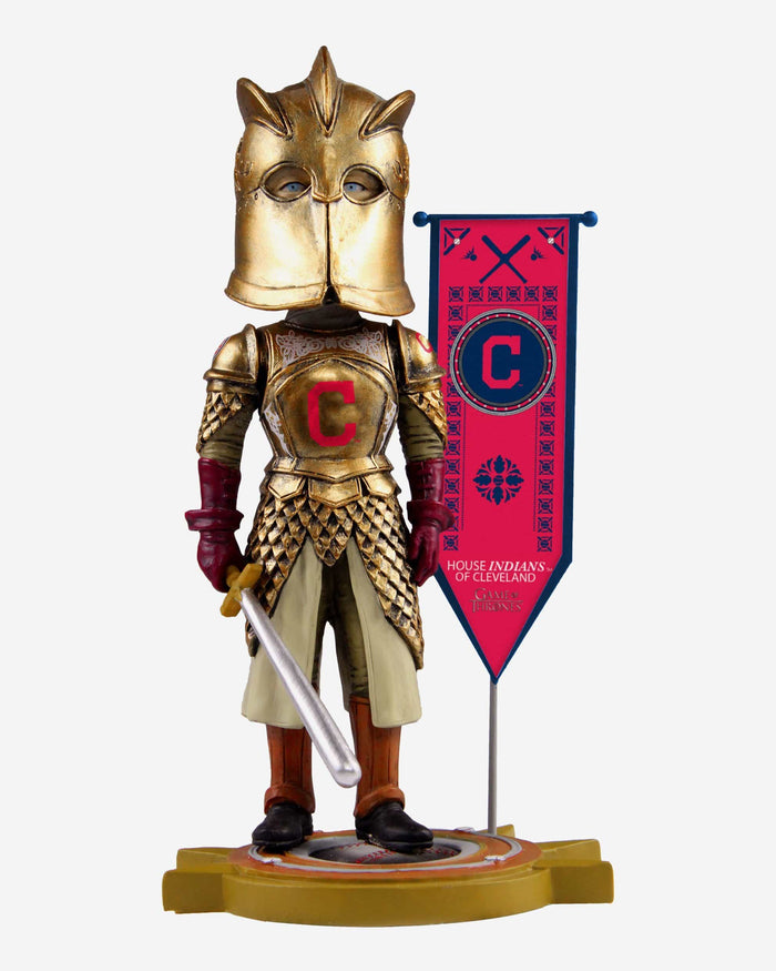 Cleveland Indians Game Of Thrones Kingsguard Bobblehead FOCO - FOCO.com