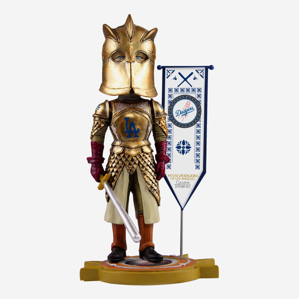 Los Angeles Dodgers Game Of Thrones Kingsguard Bobblehead FOCO - FOCO.com