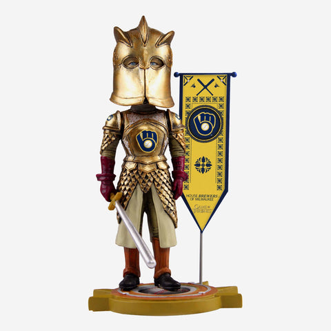Milwaukee Brewers Game Of Thrones Kingsguard Bobblehead