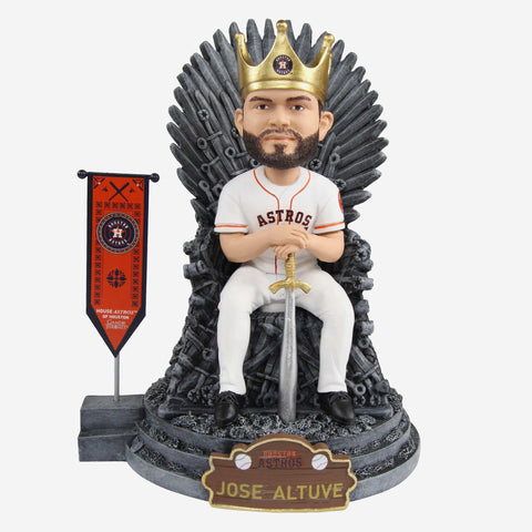 Houston Astros Jose Altuve Game Of Thrones Iron Throne Bobblehead
