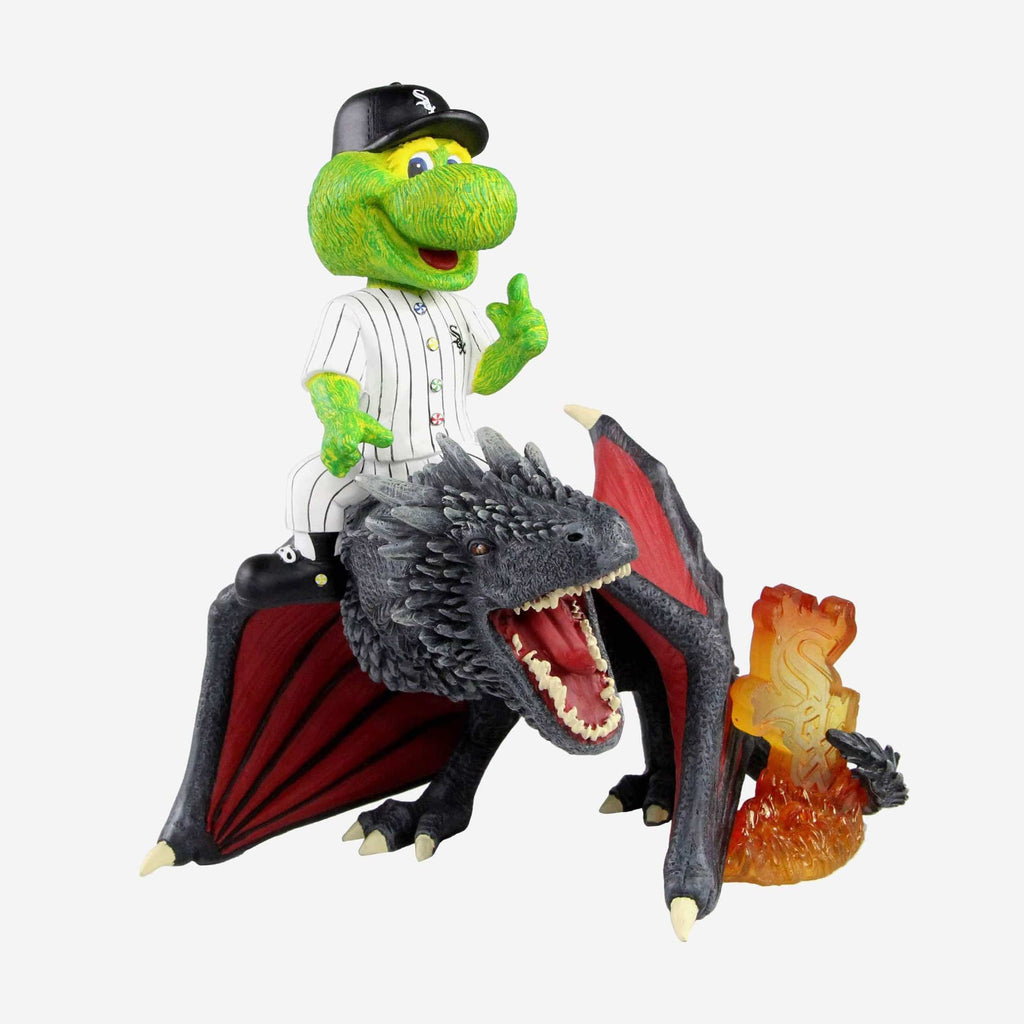 Chicago White Sox Southpaw Game Of Thrones Mascot On Fire Dragon Bobblehead FOCO - FOCO.com