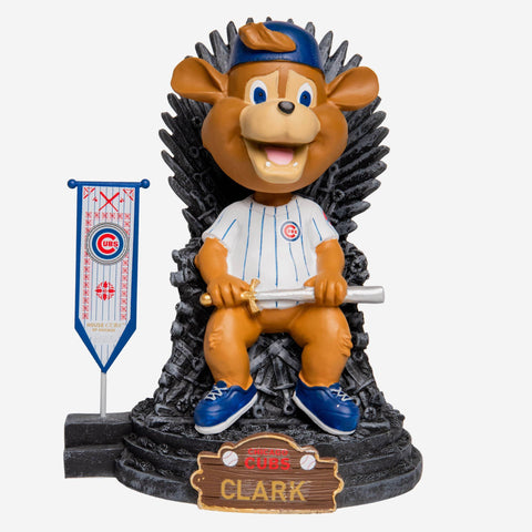 Chicago Cubs Clark Game Of Thrones Mascot Bobblehead