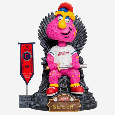 Cleveland Indians Slider Game Of Thrones Mascot Bobblehead