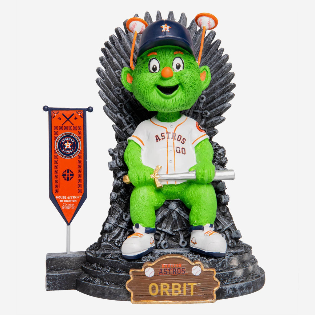 Orbit Houston Astros Game of Thrones Mascot Bobblehead FOCO - FOCO.com