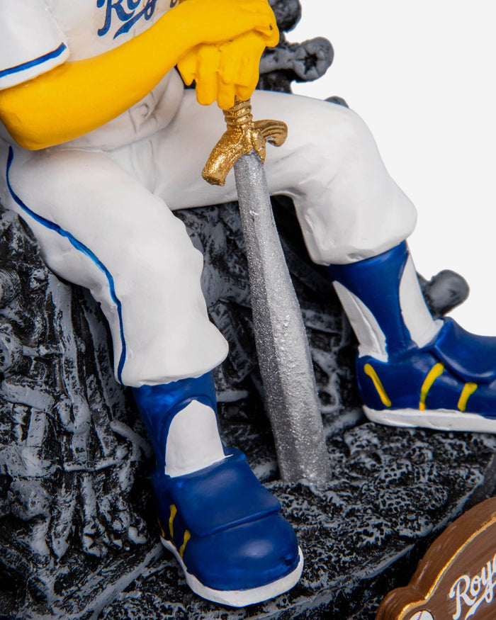 Kansas City Royals Sluggerrr Game Of Thrones Mascot Bobblehead FOCO - FOCO.com