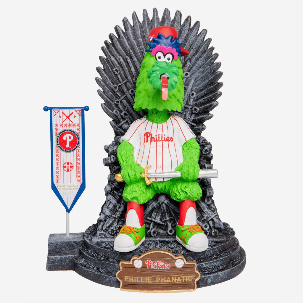 Philadelphia Phillies Phillie Phanatic Game Of Thrones Mascot Bobblehead FOCO - FOCO.com
