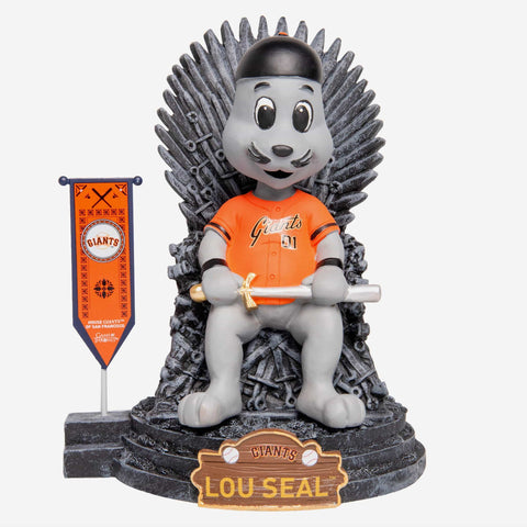 San Francisco Giants Lou Seal Game Of Thrones Mascot Bobblehead