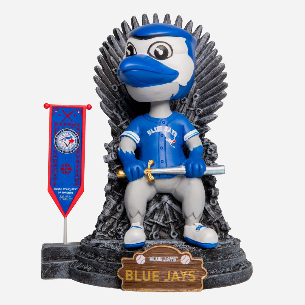 Toronto Blue Jays Ace Game Of Thrones Mascot Bobblehead FOCO - FOCO.com