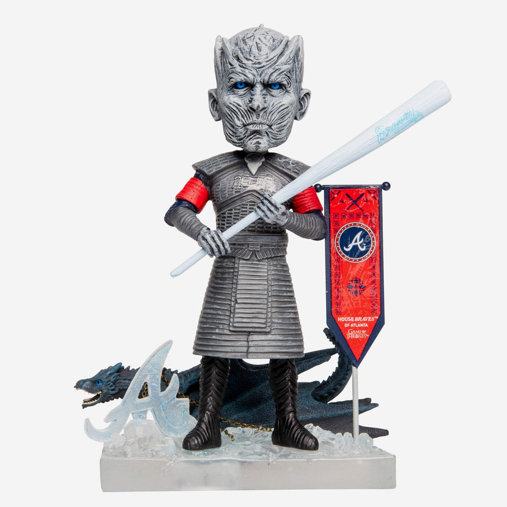 Atlanta Braves Game Of Thrones Night King Bobblehead FOCO - FOCO.com