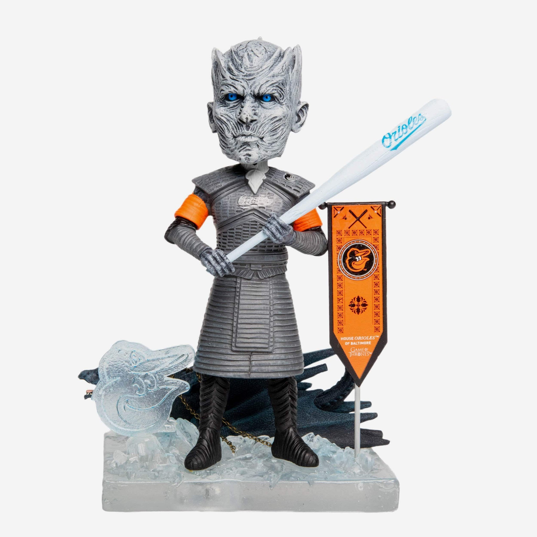 Baltimore Orioles Game Of Thrones Night King Bobblehead