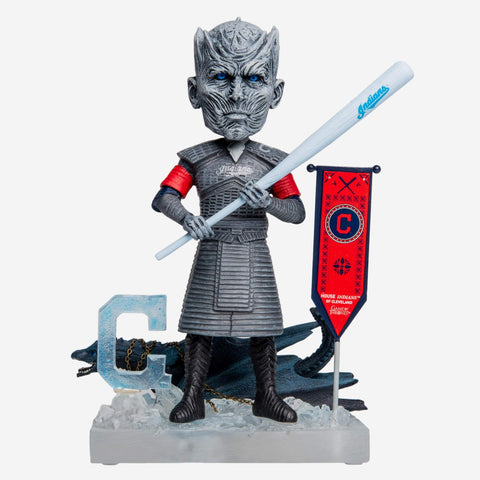 Cleveland Indians Game Of Thrones Night King Bobblehead