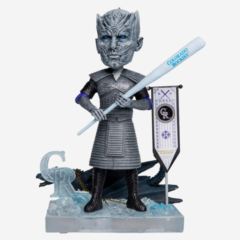 Colorado Rockies Game Of Thrones Night King Bobblehead