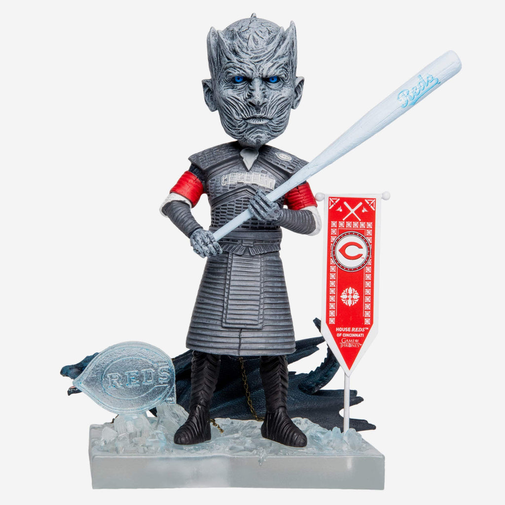 Cincinnati Reds Game Of Thrones Night King Bobblehead FOCO - FOCO.com