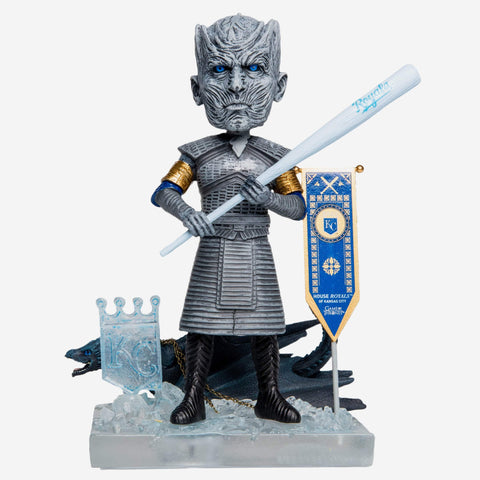 Kansas City Royals Game Of Thrones Night King Bobblehead