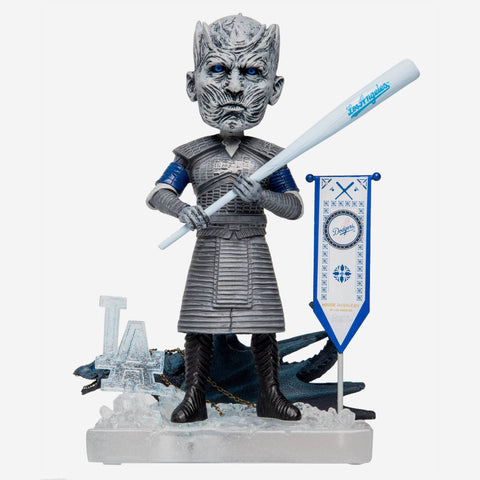 Los Angeles Dodgers Game Of Thrones Night King Bobblehead