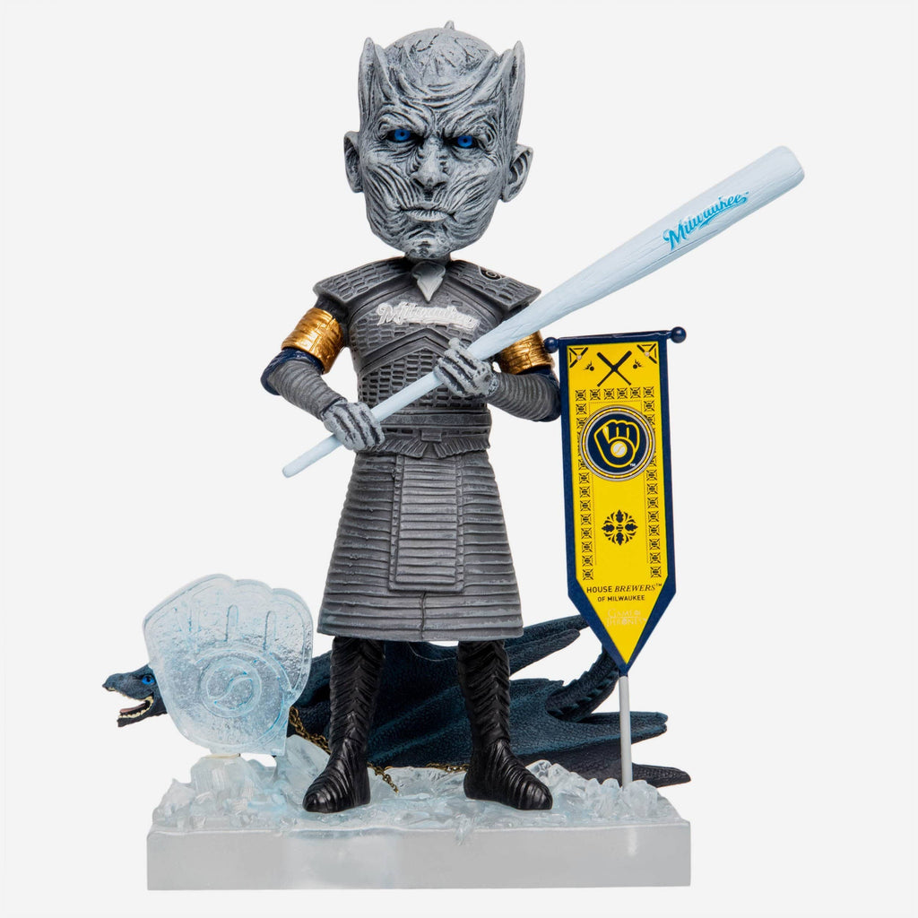 Milwaukee Brewers Game Of Thrones Night King Bobblehead FOCO - FOCO.com