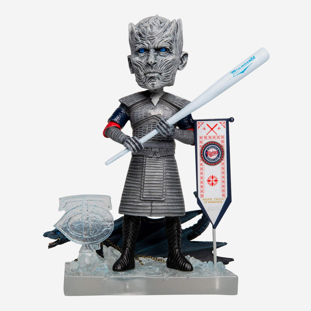Minnesota Twins Game Of Thrones Night King Bobblehead FOCO - FOCO.com
