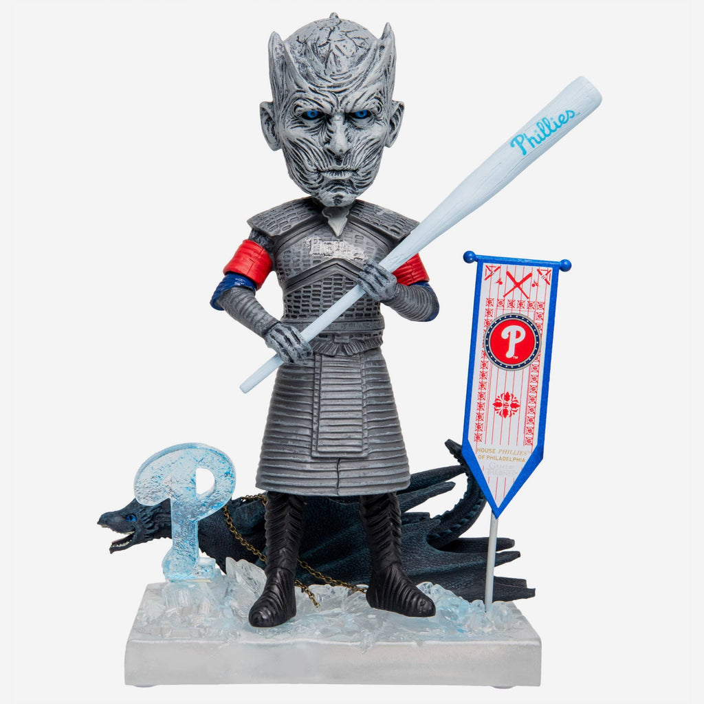 Philadelphia Phillies Game Of Thrones Night King Bobblehead FOCO - FOCO.com