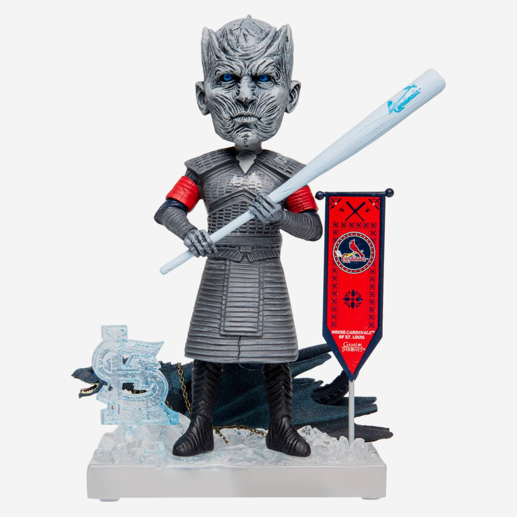 St Louis Cardinals Game Of Thrones Night King Bobblehead FOCO - FOCO.com