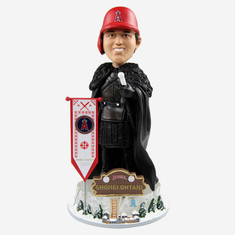 Los Angeles Angels Shohei Ohtani Game Of Thrones Night's Watch Bobblehead