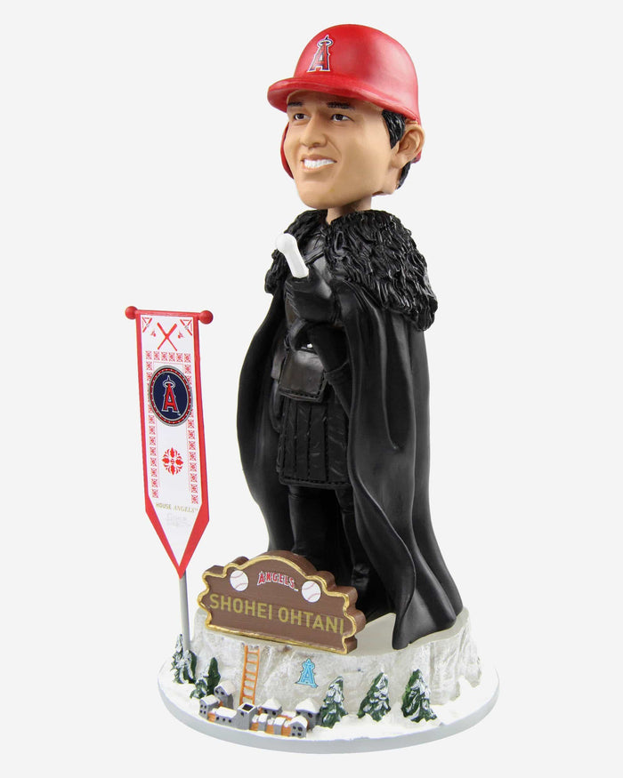 Los Angeles Angels Shohei Ohtani Game Of Thrones Night's Watch Bobblehead FOCO - FOCO.com