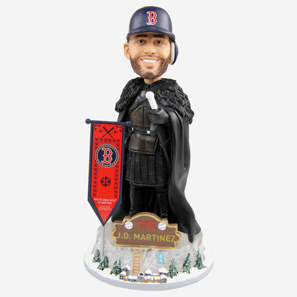 Boston Red Sox JD Martinez Game Of Thrones Night's Watch Bobblehead FOCO - FOCO.com
