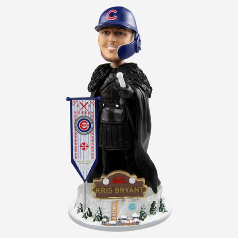 Chicago Cubs Kris Bryant Game Of Thrones Night's Watch Bobblehead