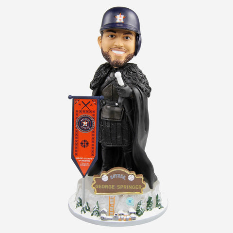 Houston Astros George Springer Game Of Thrones Night's Watch Bobblehead