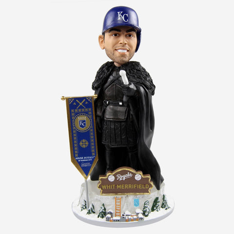 Kansas City Royals Whit Merrifield Game Of Thrones Night's Watch Bobblehead