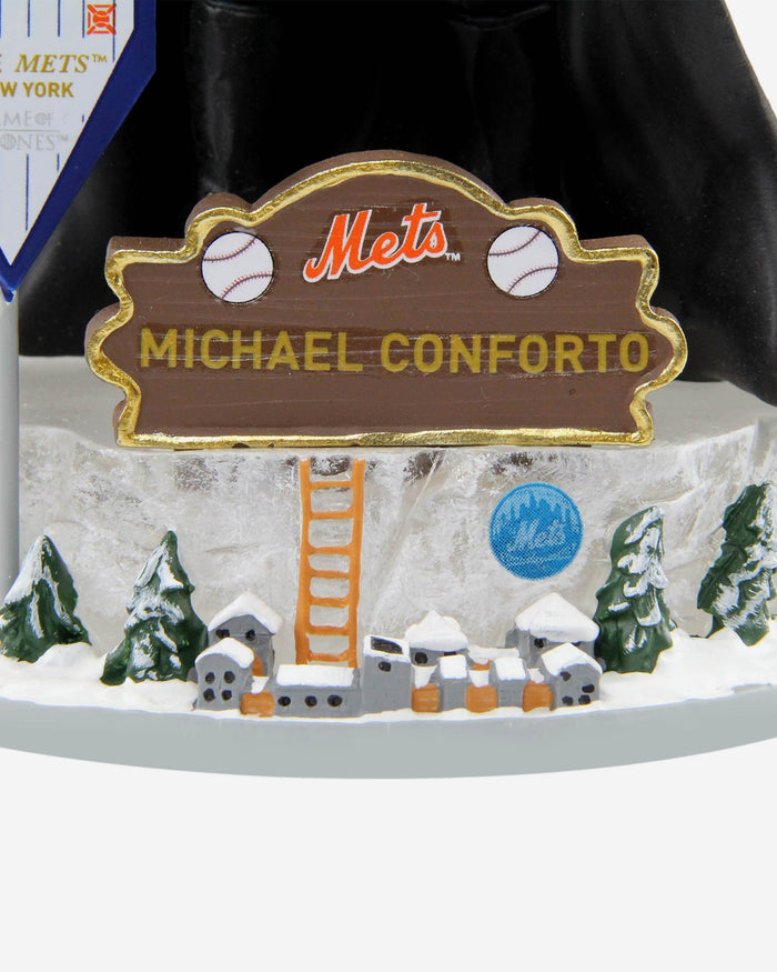 New York Mets Michael Conforto Game Of Thrones Night's Watch Bobblehead FOCO - FOCO.com