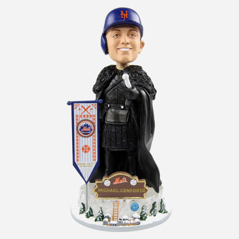 New York Mets Michael Conforto Game Of Thrones Night's Watch Bobblehead