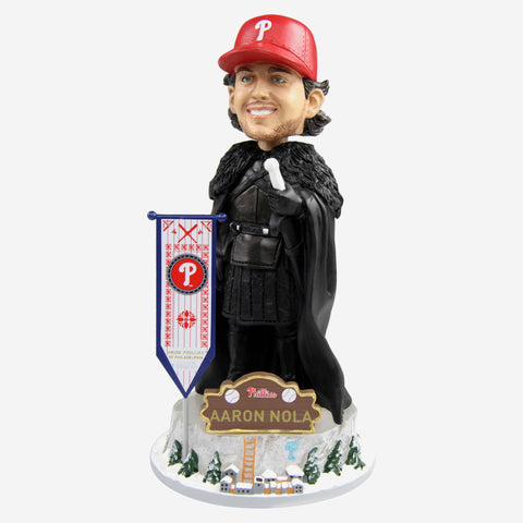 Philadelphia Phillies Aaron Nola Game Of Thrones Night's Watch Bobblehead
