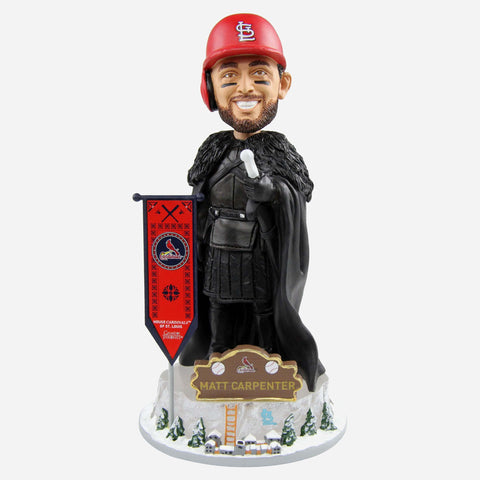 St Louis Cardinals Matt Carpenter Game Of Thrones Night's Watch Bobblehead