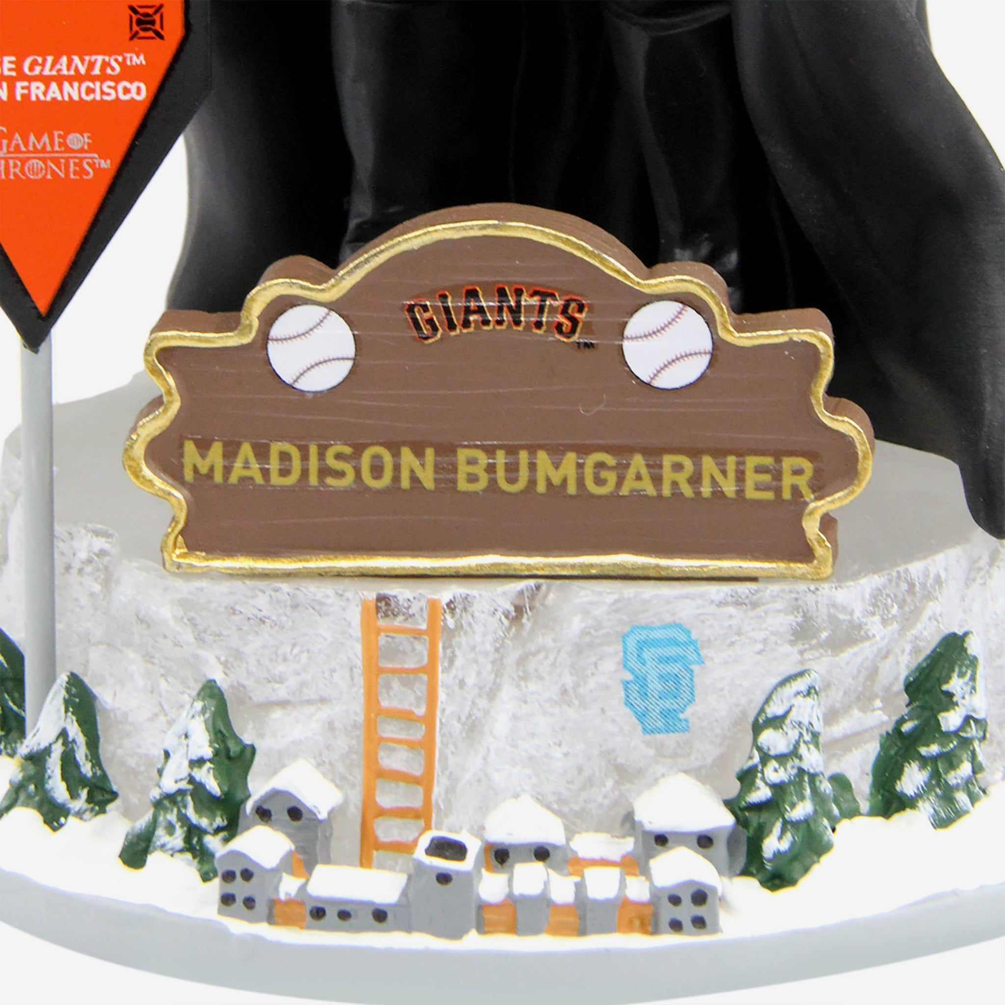 San Francisco Giants Madison Bumgarner Game Of Thrones Night's Watch Bobblehead FOCO - FOCO.com
