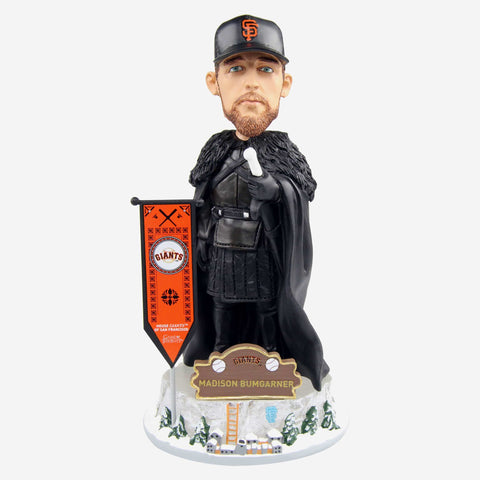 San Francisco Giants Madison Bumgarner Game Of Thrones Night's Watch Bobblehead