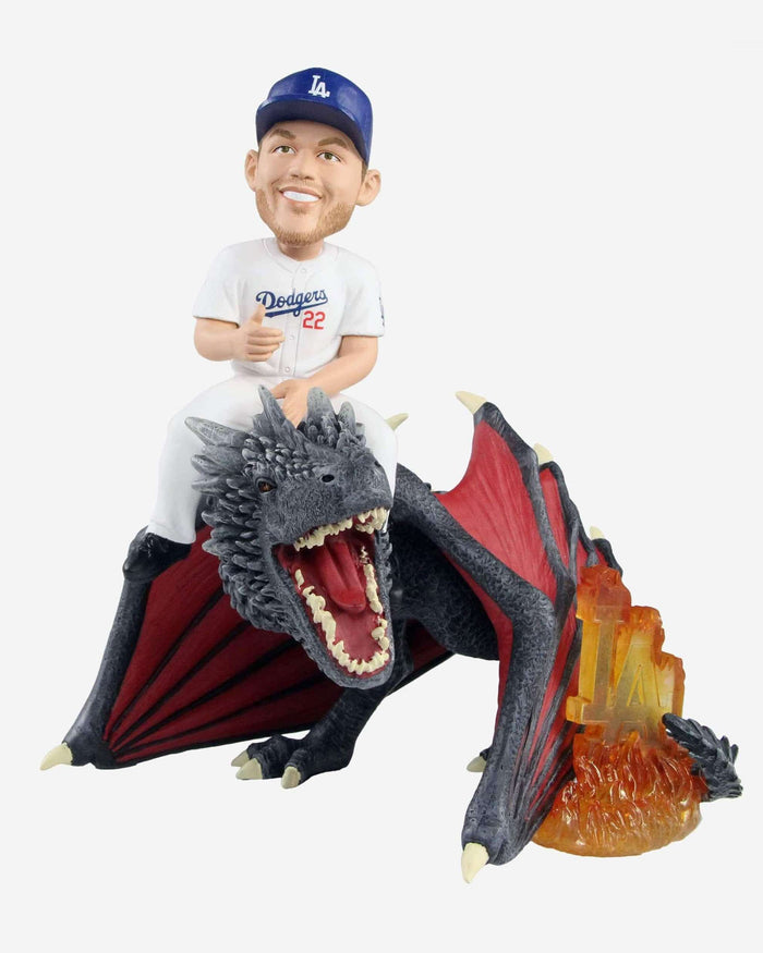 Los Angeles Dodgers Clayton Kershaw Game Of Thrones Fire Dragon Bobblehead FOCO - FOCO.com