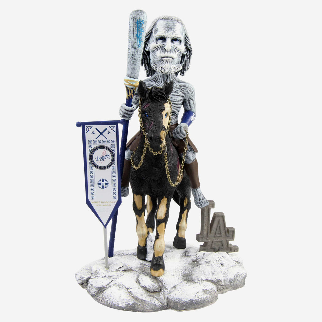 Los Angeles Dodgers Game Of Thrones White Walker Bobblehead FOCO - FOCO.com