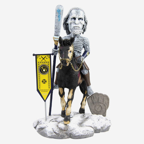 Milwaukee Brewers Game Of Thrones White Walker Bobblehead