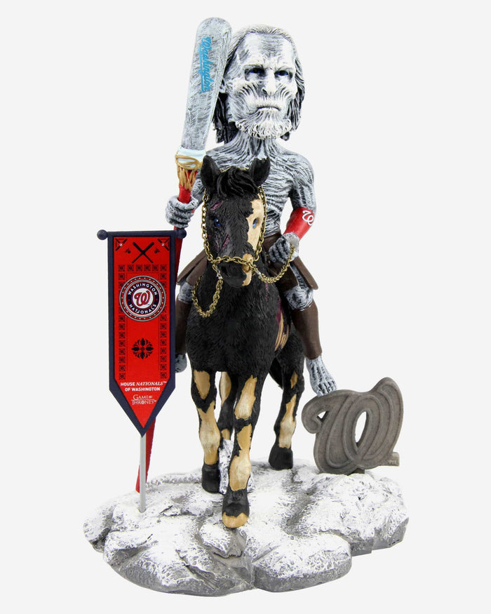 Washington Nationals Game Of Thrones White Walker Bobblehead FOCO - FOCO.com