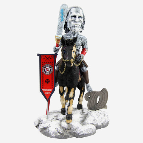 Washington Nationals Game Of Thrones White Walker Bobblehead