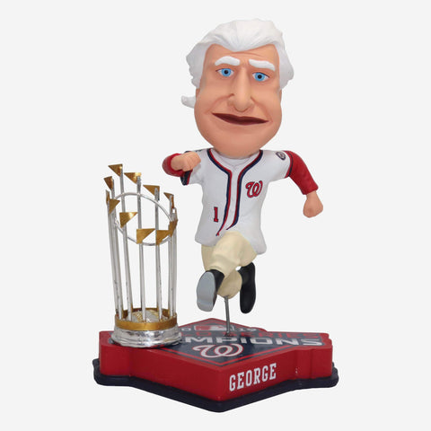 George Washington Washington Nationals 2019 World Series Champions Bobblehead