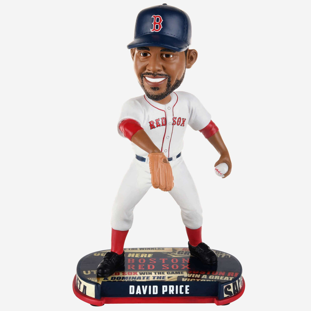 David Price Boston Red Sox Headline Bobblehead
