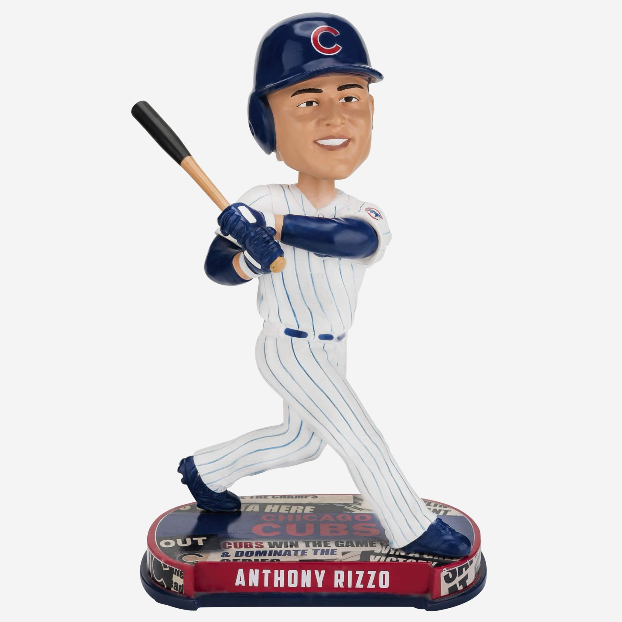 Anthony Rizzo Chicago Cubs Headline Bobblehead FOCO - FOCO.com