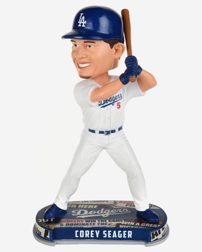 factory price d433f 58381 Corey Seager Los Angeles Dodgers Headline Bobblehead
