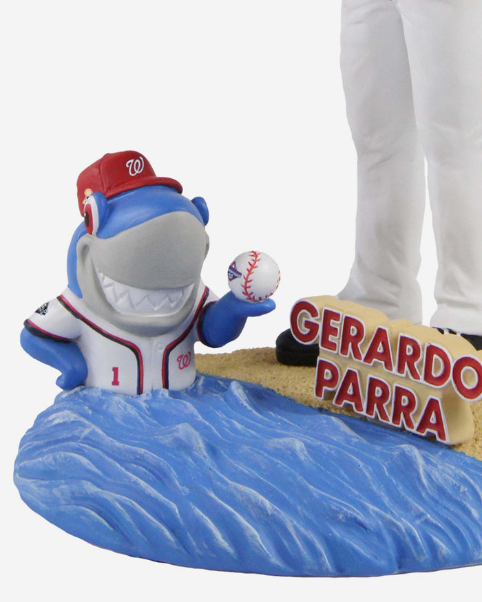Gerardo Parra Washington Nationals 2019 World Series Champions Island Base Bobblehead FOCO - FOCO.com