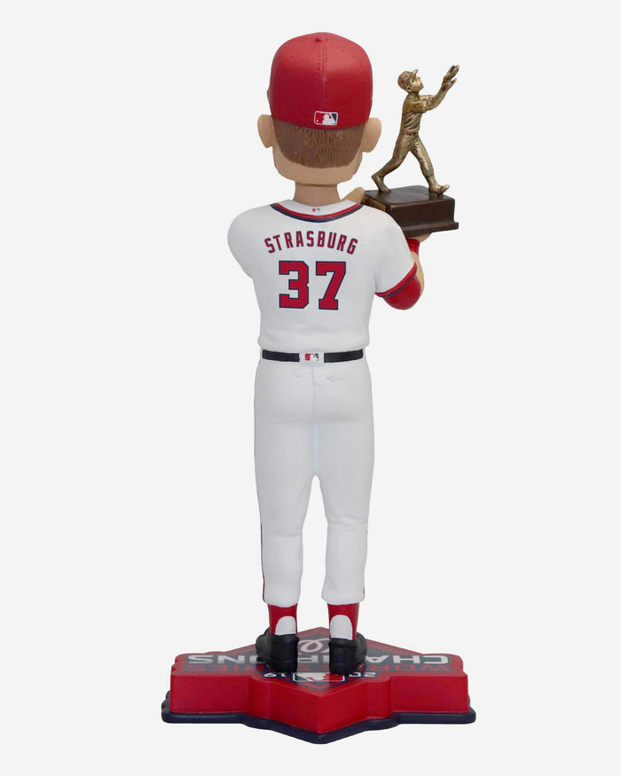 Stephen Strasburg Washington Nationals 2019 World Series Champions MVP Bobblehead FOCO - FOCO.com